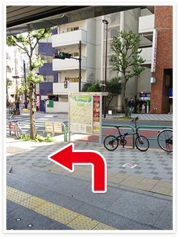 半蔵門線半蔵門駅アクセス写真1
