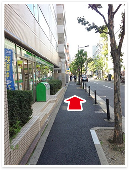 半蔵門線半蔵門駅アクセス写真3
